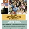 High Attendance Sunday