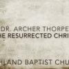 He Has Risen Indeed!